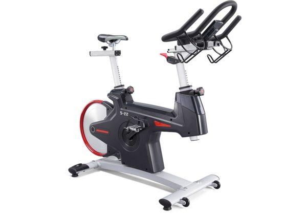 DK Fitness S22.1 spinningpyora edestä