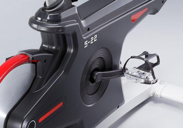DK Fitness S22.1 spinningpyora poljin