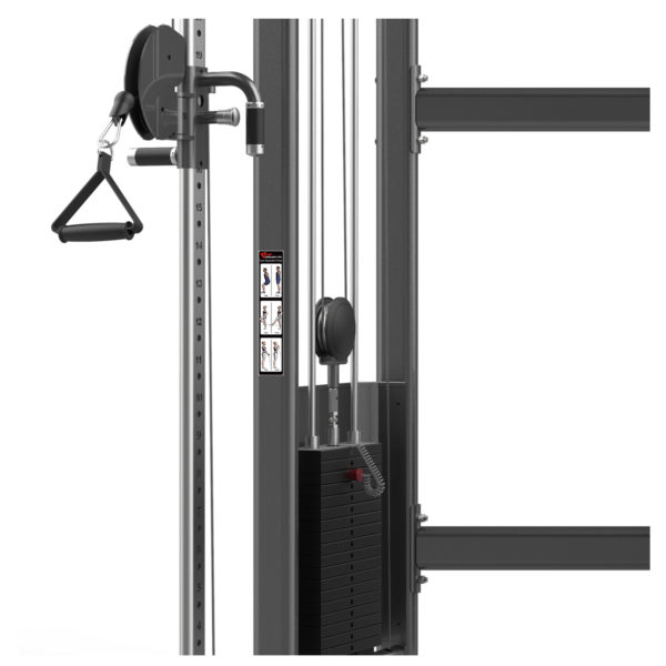 FM-1001 Dual Adjustable Pulley