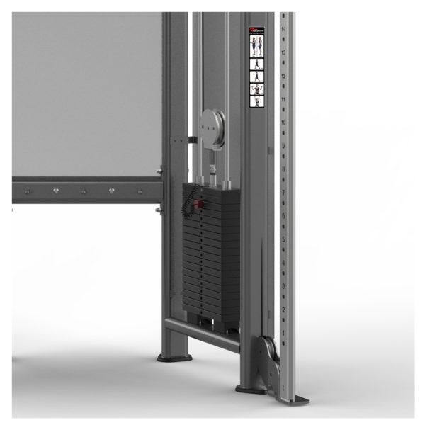 FM-1002 Dual Adjustable Pulley